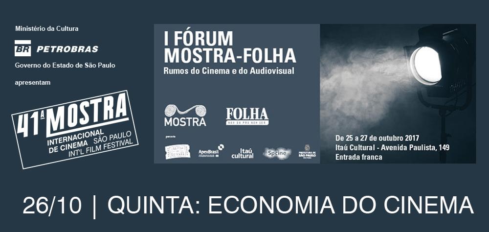 Economia do cinema é o tema que guia o segundo dia do Fórum Mostra-Folha