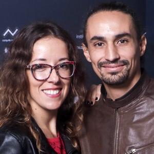 """Martín Boulocq e Andrea Camponovo, diretor e atriz de """"Eugenia"""""""