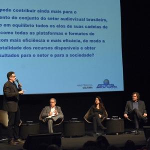 Fundo Setorial do Audiovisual guiou debate com o ministro da Cultura no I Fórum...