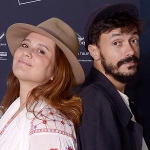 """Vincent Moon e Priscilla Telmon, diretores de """"Híbridos, os Espíritos do Bra..."""