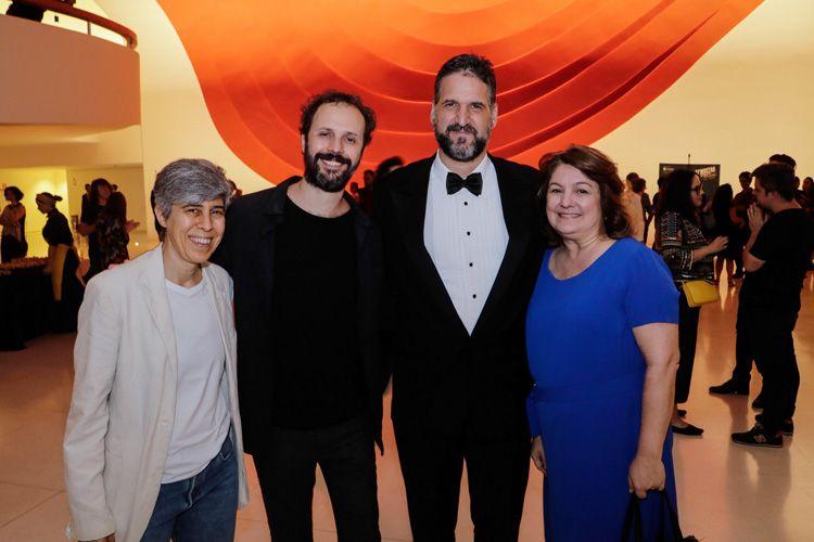Lina Chamie (cineasta), Paulo Sacramento (cineasta), Rafael Terpins (cineasta) e Débora Ivanov (diretora da Ancine)