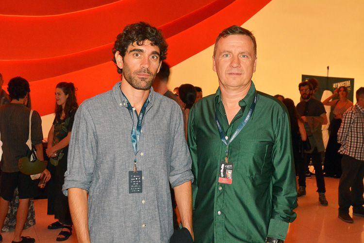 Adrian Orr e Juan Figueroa, cineastas