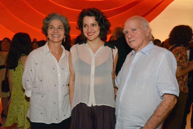 Márcia Gullo, Rita Gullo e Ignácio de Loyola Brandão