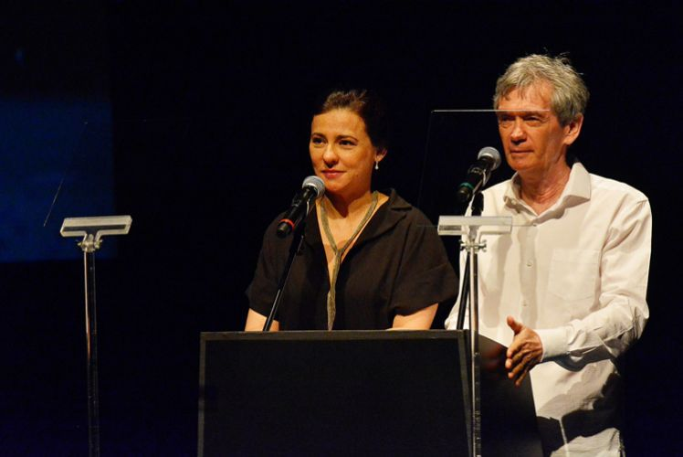 Renata de Almeida e Serginho Groisman