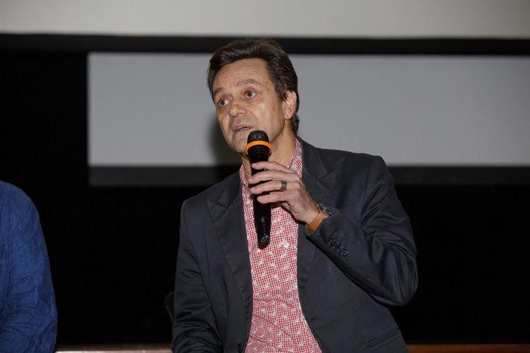 Cinearte 1 / Debate com o diretor Ai Weiwei após a sessão de seu filme Human Flow. Mário César Carvalho (Folha de S.Paulo)