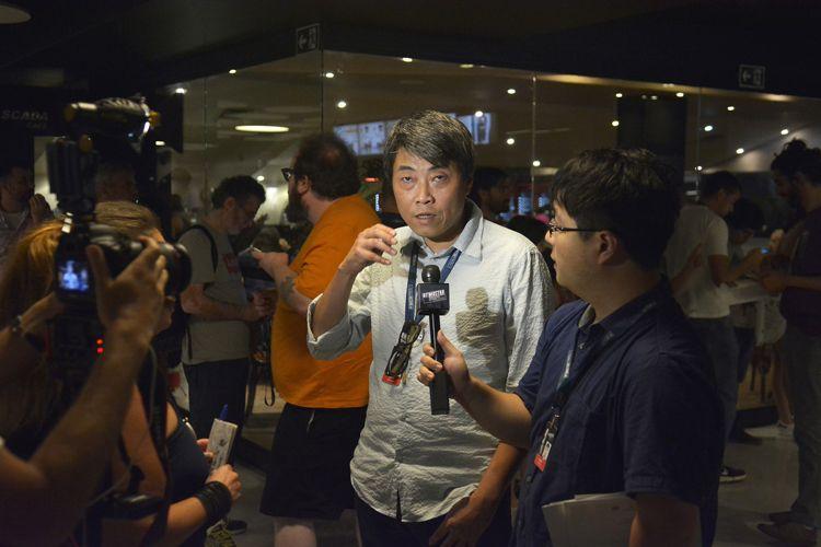 Espaço Itaú de Cinema – Frei Caneca 5 / Lai Kuo-Na, diretor do filme Um Peixe Fora d´Água