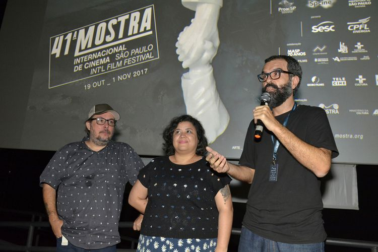 Espaço Itaú de Cinema - Frei Caneca 3 / Diego di Niglio (diretor) e membros da equipe apresentam o filme Aurora 1964