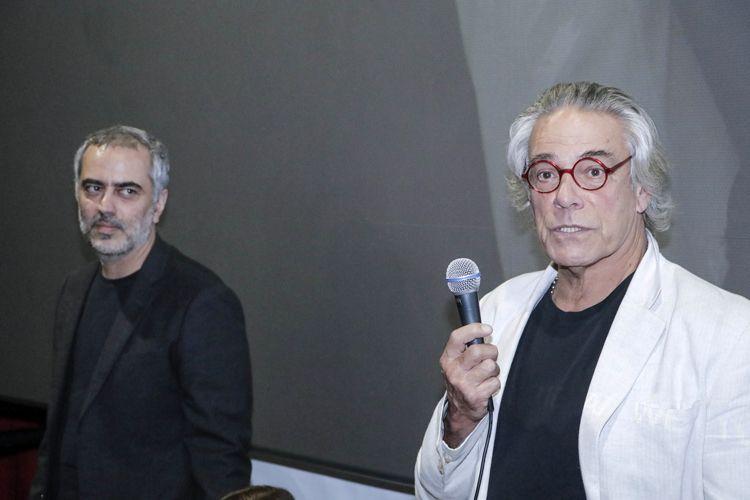 Reserva Cultural 2 / Heitor Dhalia, diretor de Yoga Arquitetura da Paz, e Michael O`Neill, autor do livro que inspirou o filme