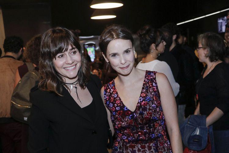 Espaço Itaú de Cinema - Augusta 1 / Alessandra Negrini e Débora Falabella (atrizes) na sessão do filme Beijo no Asfalto, de Murilo Benício