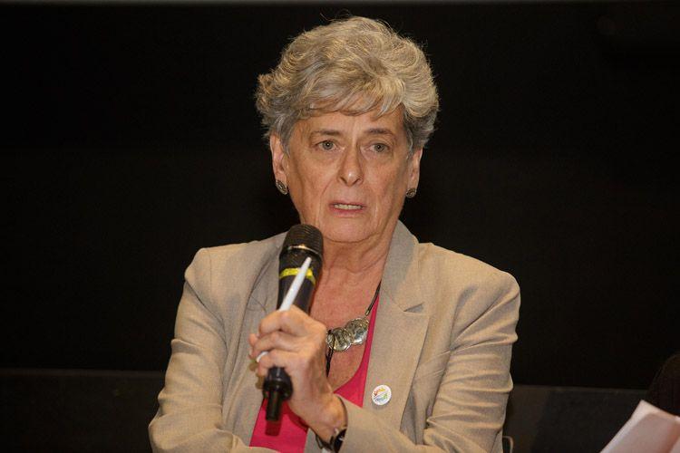 Cinesesc / Debate sobre acessibilidade após a sessão do filme Esplendor, de Naomi Kawase. Sylvia Bahiense, Assessora Técnica em Acessibilidade do Audiovisual da Secretaria do Audiovisual do Ministério da Cultura