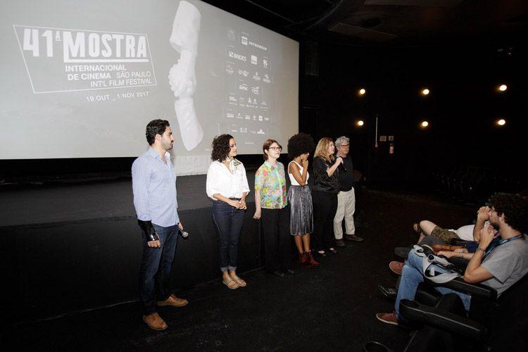 Espaço Itaú de Cinema - Augusta 1 / Renata Pinheiro e Sérgio Oliveira, diretores do filme Açúcar, presentes na sessão