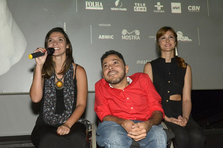 Espaço Itaú de Cinema - Frei Caneca 2 / Mariana Jacob (produtora), Jeorge Pereira (diretor) e Bianca Joy (atriz) apresentam o filme Organismo
