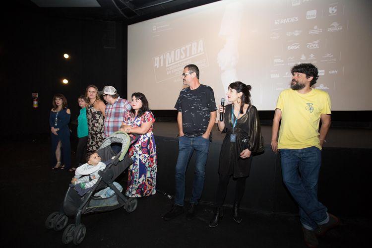 Espaço Itaú de Cinema – Augusta 1 /Equipe do filme Saudade, de  Paulo Caldas, presente na sessão
