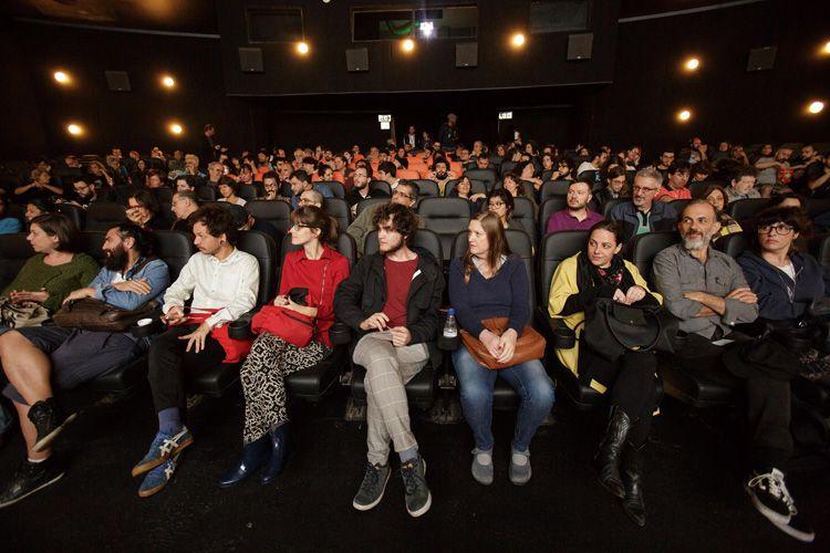 Espaço Itaú de Cinema - Augusta 1 / Público presente no debate sobre o filme Zama, de Lucrecia Martel, após a sessão