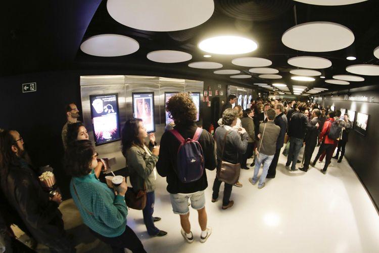 Espaço Itaú de Cinema - Frei Caneca 1 / Público para a sessão do filme Gabriel e a Montanha, de Felipe Barbosa