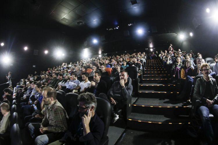 Espaço Itaú de Cinema - Frei Caneca 1 / Público na sessão do filme Gabriel e a Montanha, de Felipe Barbosa