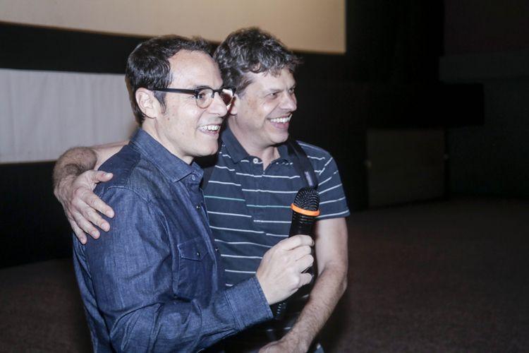 Cinesala / Ricardo Mehedff (diretor) e Dudu Miranda (diretor de fotografia) apresentam a sessão do filme Foro Íntimo