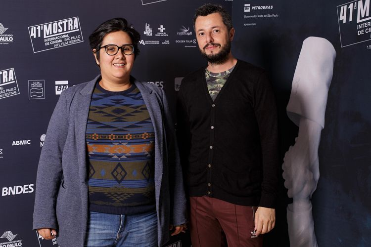 Juliana Rojas e Marco Dutra, diretores do filme As Boas Maneiras
