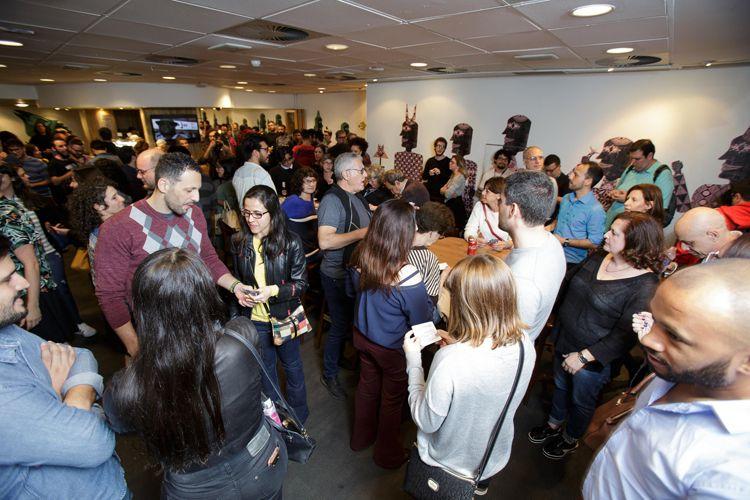 Cinesesc / Público para a sessão do filme As Boas Maneiras, dos diretores Juliana Rojas e Marco Dutra