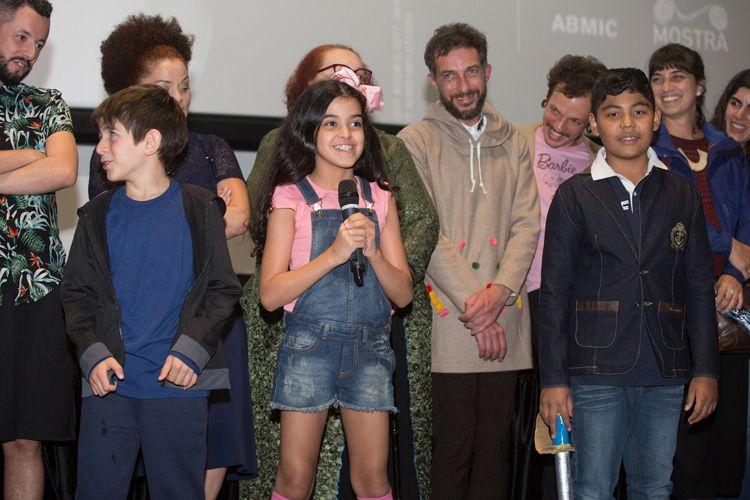 Cinesesc / Integrantes do filme As Boas Maneiras (de Juliana Rojas e Marco Dutra) presentes na sessão