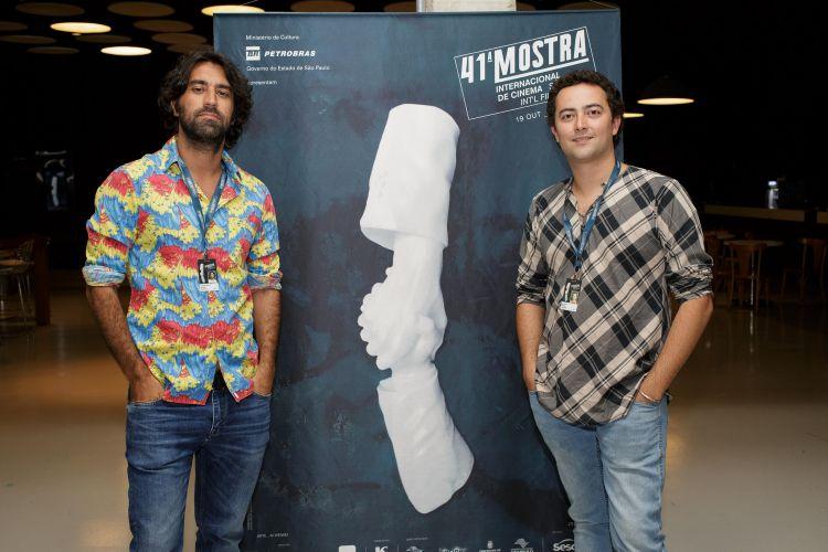 Léo Garcia e Zeca Brito, diretores do filme A Vida Extra-Ordinária de Tarso de Castro