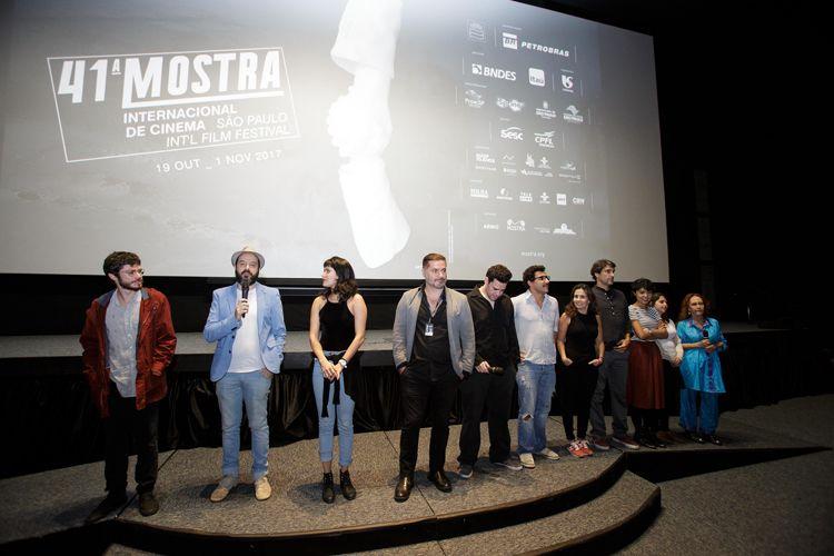 Cinesesc / Cristiano Burlan, diretor de Antes do Fim, apresenta a equipe de seu filme antes da sessão