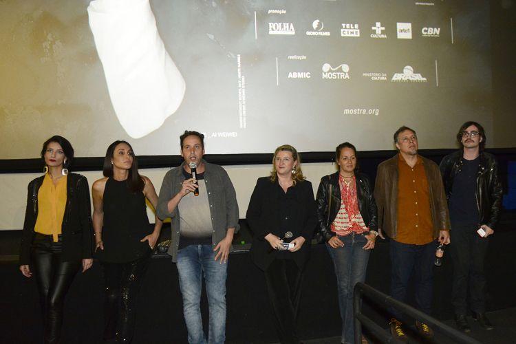Espaço Itaú de Cinema – Frei Caneca 1 / Allan Fiterman, diretor de Berenice Procura, apresenta a sessão de seu filme junto à equipe