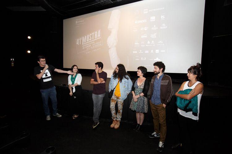 Espaço Itaú de Cinema – Augusta 1 / Pedro Perazzo, roteirista, apresenta a equipe do filme Homem Livre