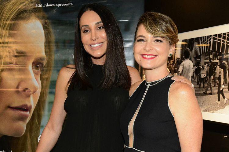 Carol Marra e Cláudia Abreu, atrizes do filme Berenice Procura, de Allan Fiterman