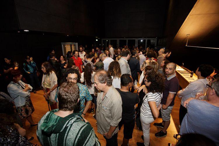 Instituto Moreira Salles – IMS / Público para a sessão do filme Inaudito, de Gregorio Gananian