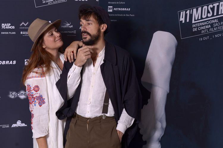 Priscilla Telmon e Vincent Moon, diretores do filme Híbridos, os Espíritos do Brasil