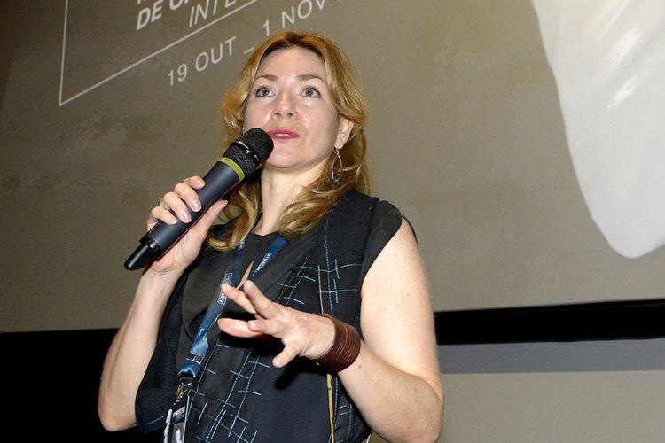 Cinesesc / Chamila Rodríguez, produtora do filme A Telenovela Errante, apresenta a sessão