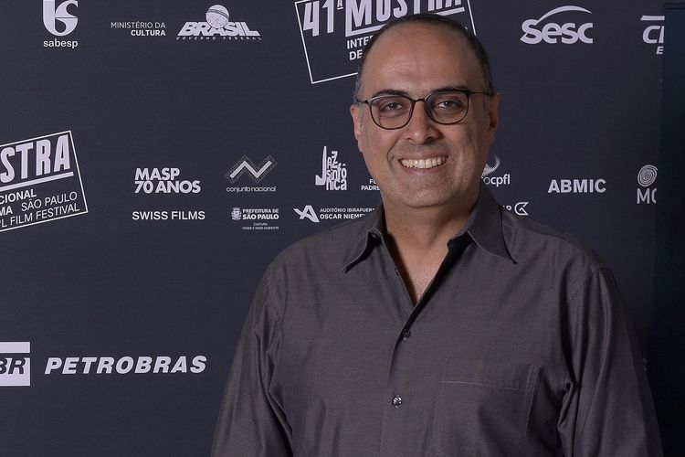 O produtor Ahmad Kiarostami, filho de Abbas Kiarostami (diretor do filme 24 Frames)