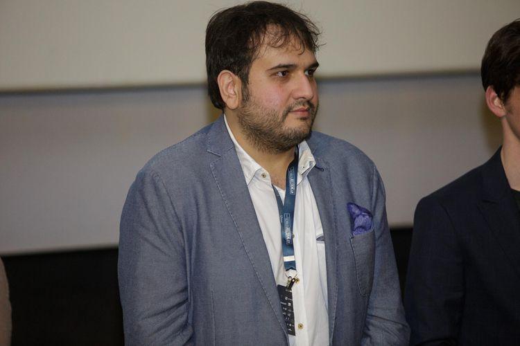 Espaço Itaú de Cinema – Frei Caneca 5 / Reza Dormishian, diretor de Cadeiras Brancas, no debate após a sessão do filme