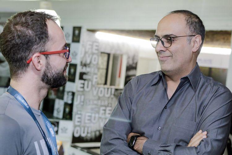 Ensaio da Escola de Samba Vai-Vai / Ahmad Kiarostami, produtor do filme 24 Frames, de Abbas Kiarostami