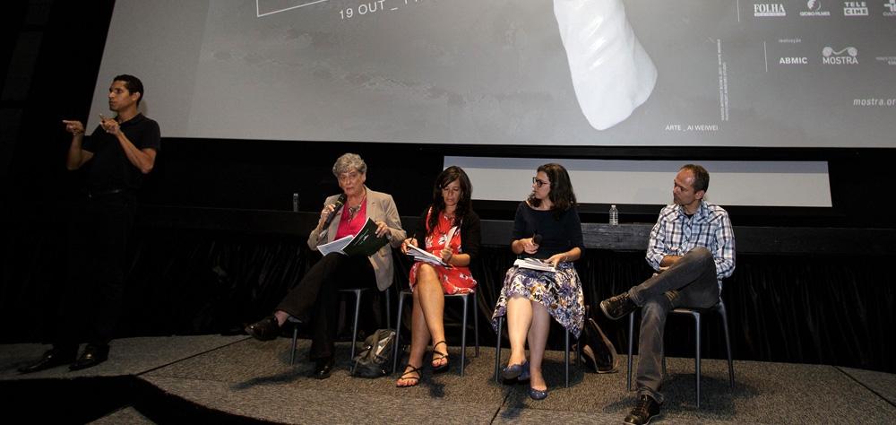 """Sessão acessível de """"Esplendor"""" guia debate sobre a inclusão no cinema"""