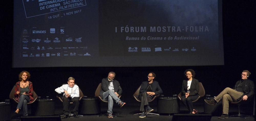 I Fórum Mostra-Folha discutiu, durante seus três dias, o cinema além dos filmes
